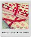 Fabric Glossary!