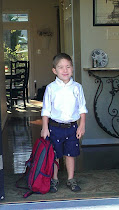 Tyler's 1st day of preschool