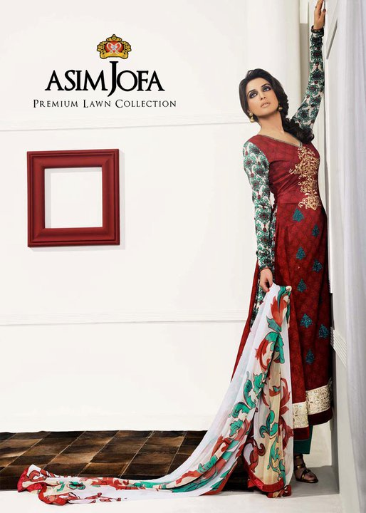 Asim Jofa Premium Lawn Collection For Raksha Bandhan !