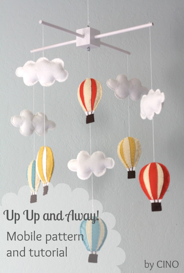 Up Up And Away Mobile Tutorial And Pattern