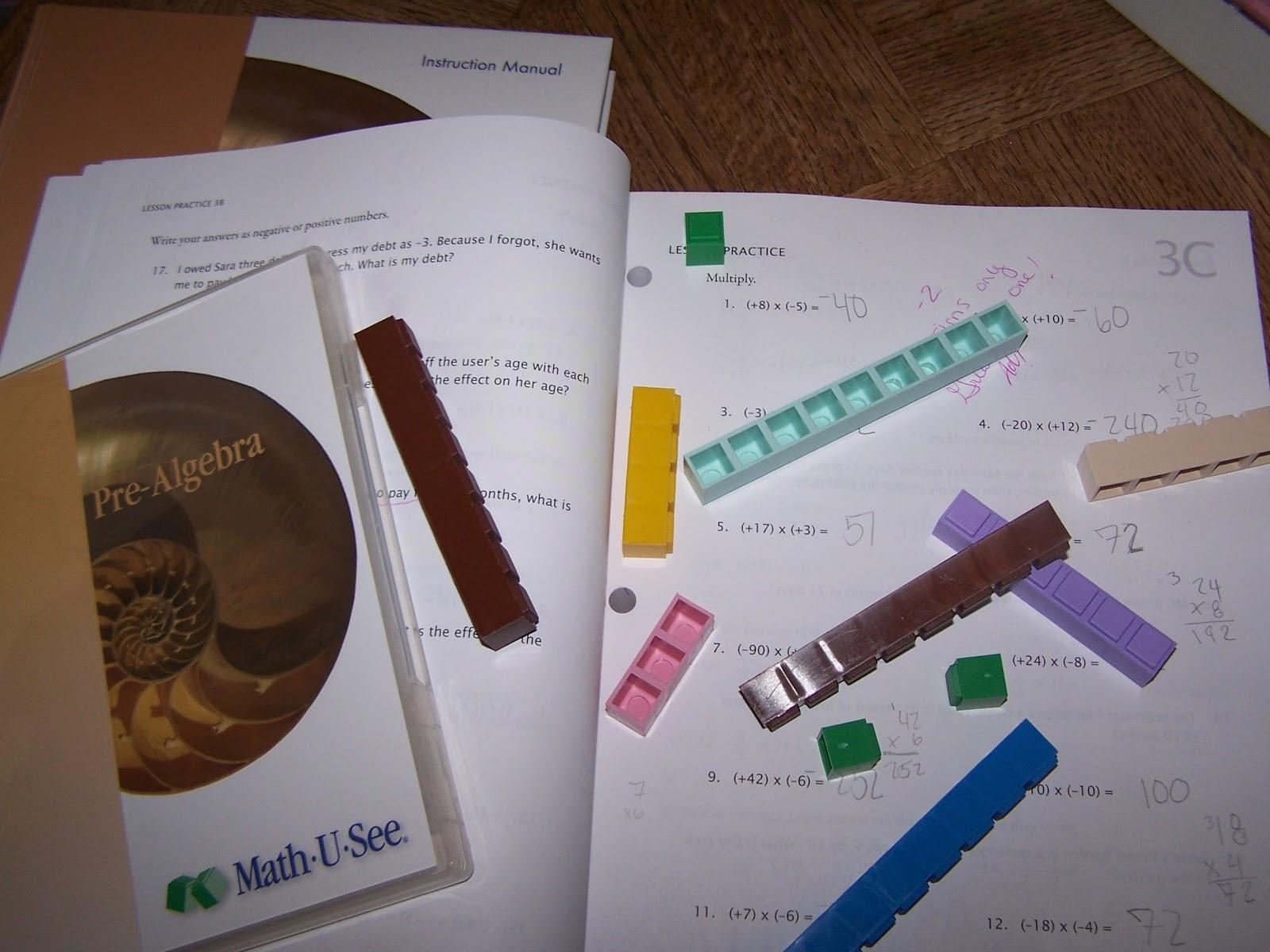math worksheet : math u see pre algebra worksheets  educational math activities : Math U See Worksheet