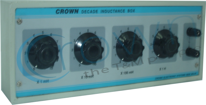 Decade Resistance Box Capacitance Box Inductance Box