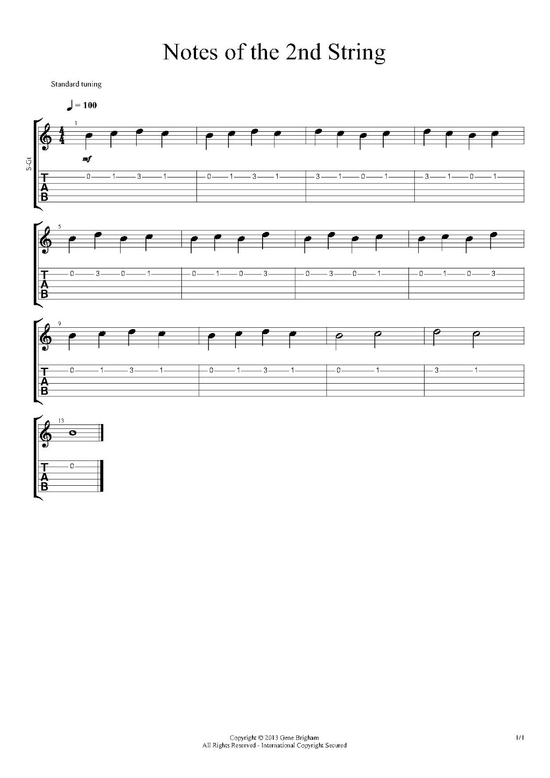 Beginning Guitar The 2nd String The First Minor Chords