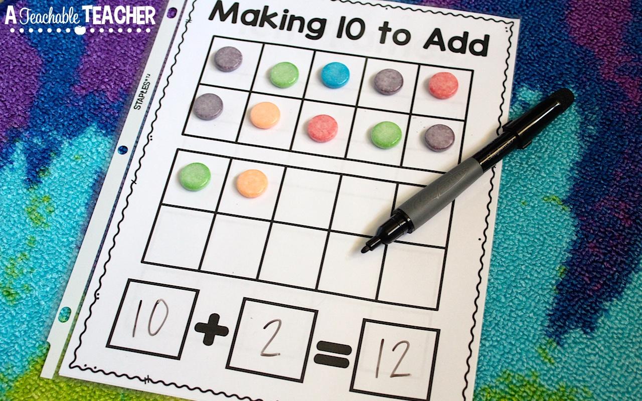 Ten Frame Fun for Free! - A Teachable Teacher