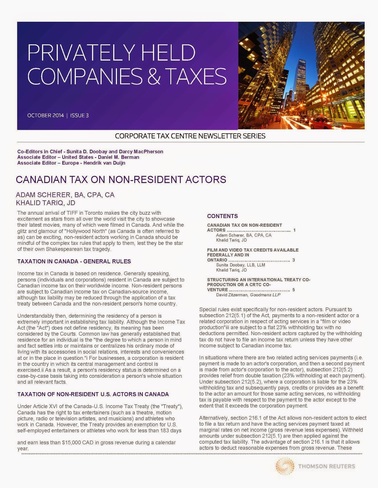 http://www.taxchambers.ca/wp-content/uploads/2014/10/Privately-Held-Companies-Taxes-Oct-2014.pdf