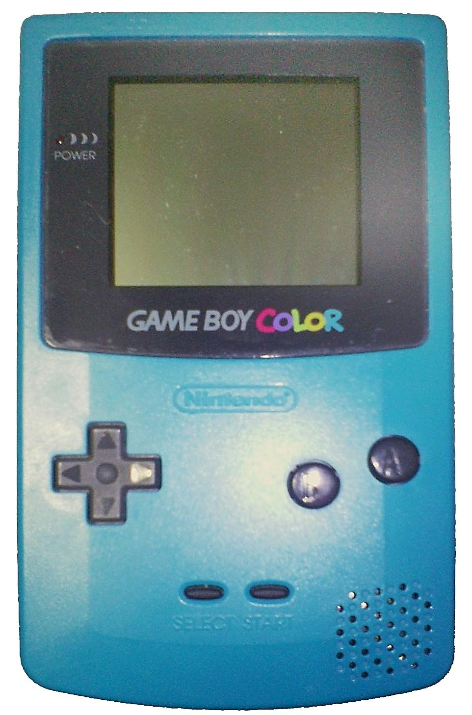 Imagen de la consola portátil Nintendo Game Boy Color, 1998, Fotografía: PiaCarrot (cc:by-sa)