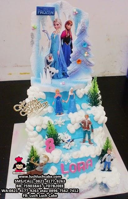 Kue Tart Frozen Tingkat 2 Daerah Surabaya - Sidoarjo