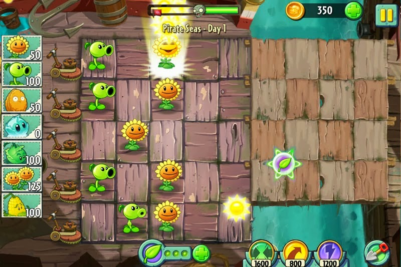Plants vs. Zombies 2 2.2.2 android