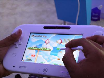 Experiencia Jugador Wii U Game Pad