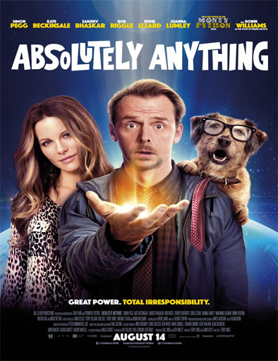 Ver Absolutamente todo (Absolutely Anything) (2015) Online