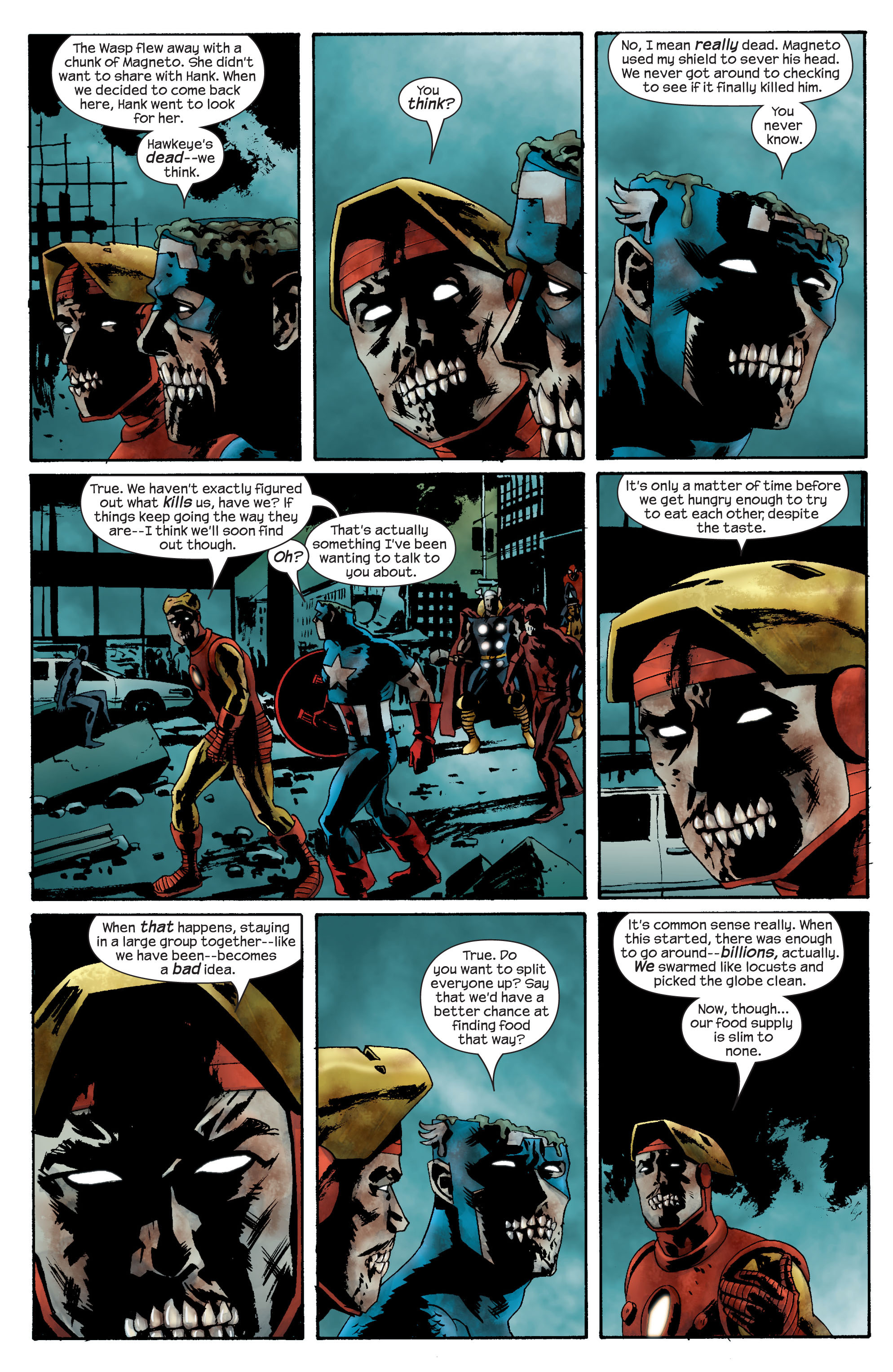Marvel Zombies (2006) Issue #2 #2 - English 16
