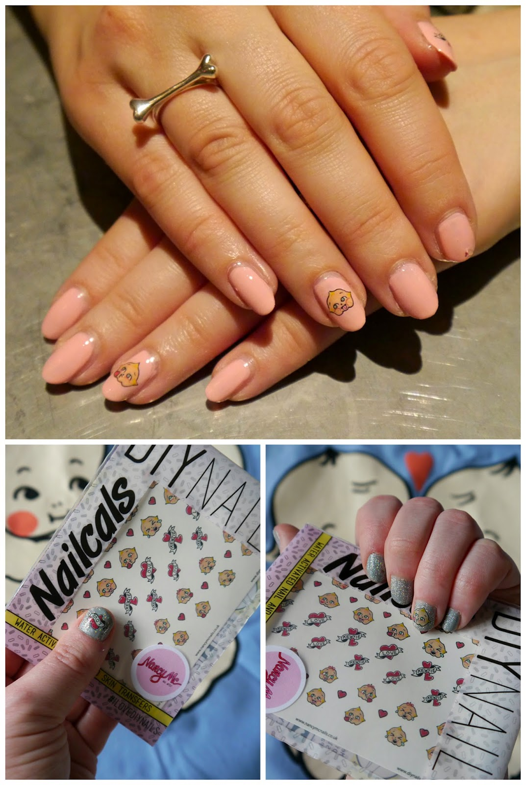 Abandon Ship Apparel, Kewpie collection, Kewpie Party, Glasgow, DIY Nails, Scottish Bloggers, Sacha Make Up, Sacha Nails, Kewpie nails, Nail art, DIY Nails