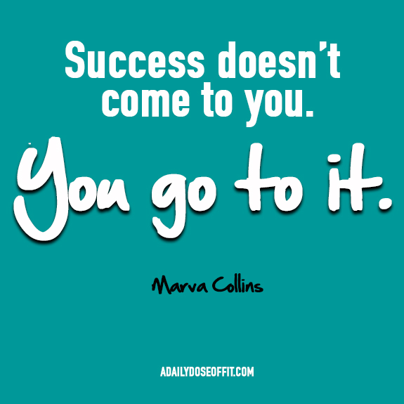 Marva Collins, Running Quotes, Running Inspiration, Inspirational Quotes, FitFluential, SweatPink