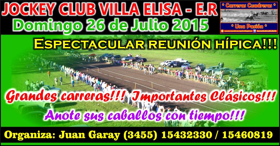 VILLA ELISA - 26.07.2015