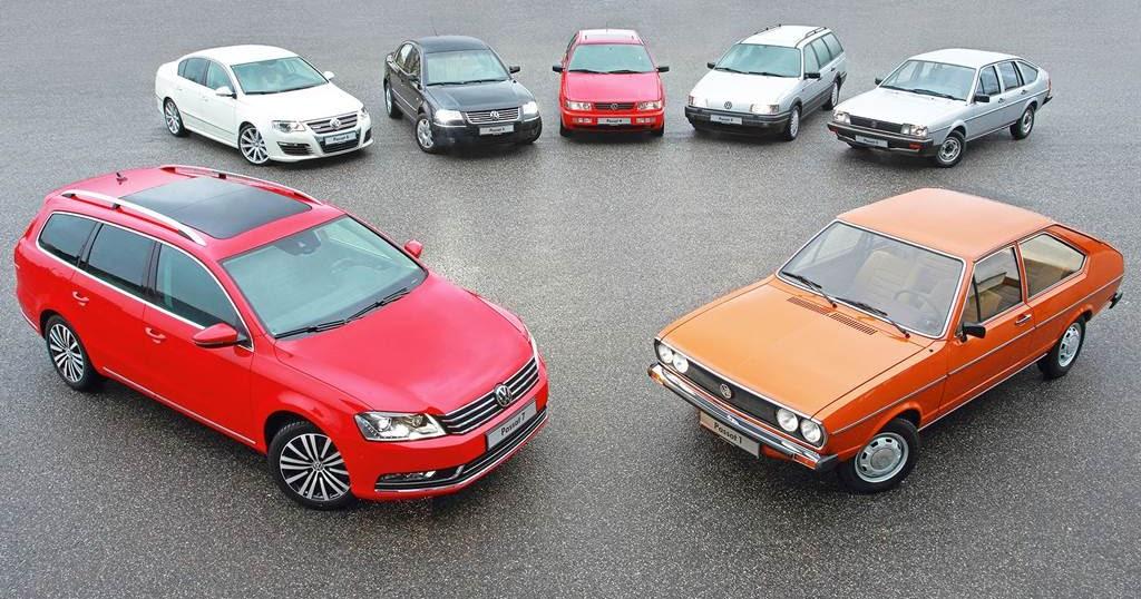 VW Passat comemora seus 40 anos