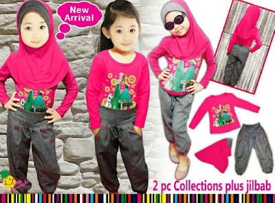 Model Baju Anak Perempuan muslim 2015
