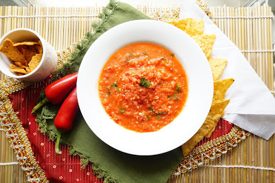 Salsa,dip,chutney,tomato chutney
