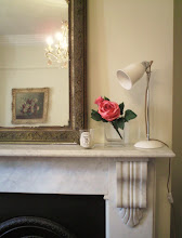 Marble fireplace.....