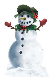 Snowgirl Peel 'N Place