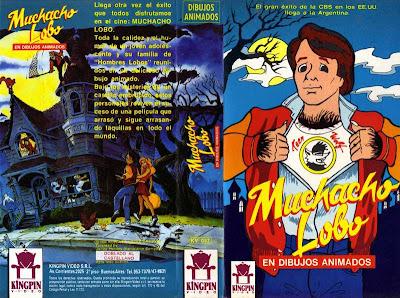 Teen Wolf Muchacho Lobo VHS