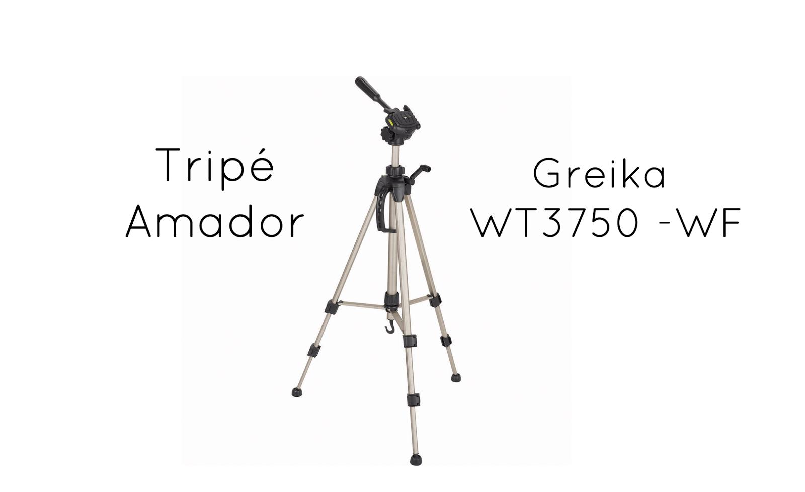 Tripé Greika WT3750-WF