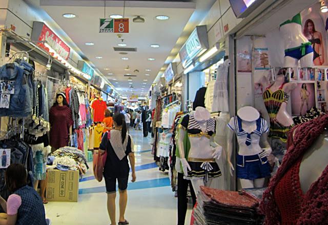 inside Indra Market in Bangkok, Thailand