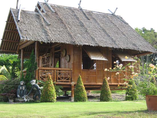 Philippine Native House Design Bamboo http://www.daily-dose-of-art.com/2012/11/the-bamboo-house-1-bahay-kubo-why.html