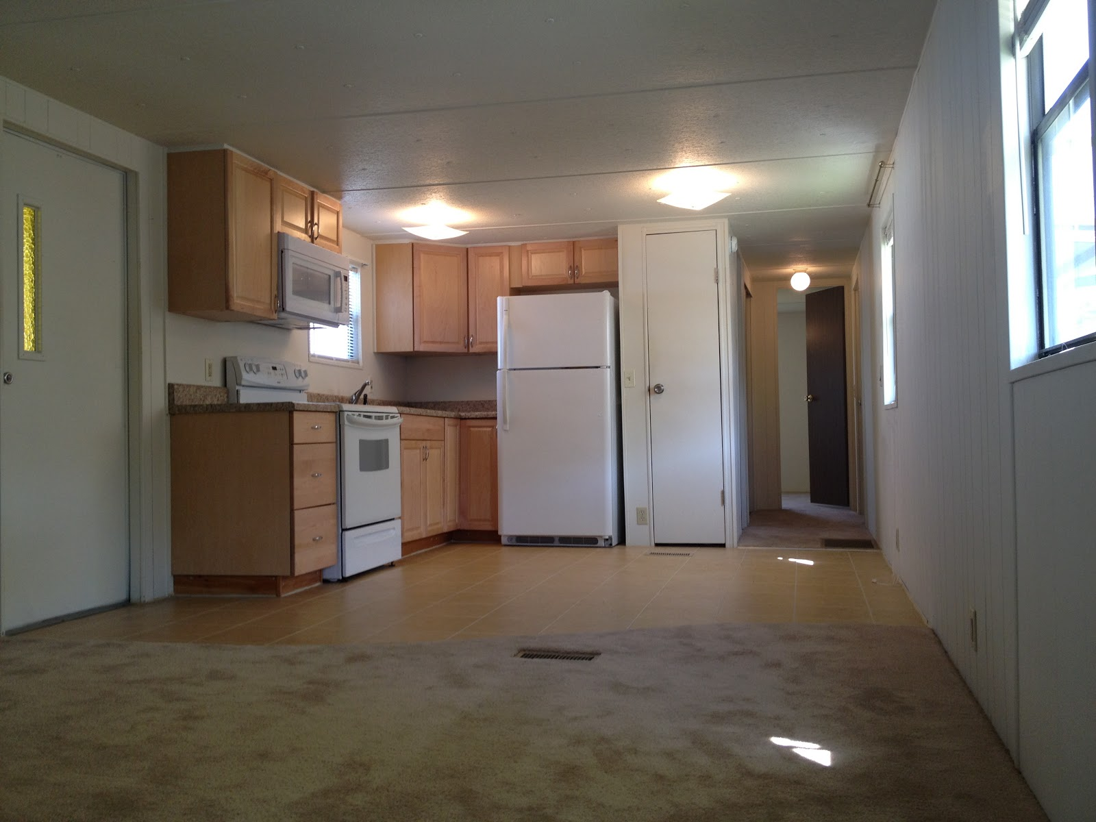 Nice One Bedroom One Bath Mobile Home #8: Tropical Trail Villa SOLD 2 Bedroom 1 Bath Mobile Home For