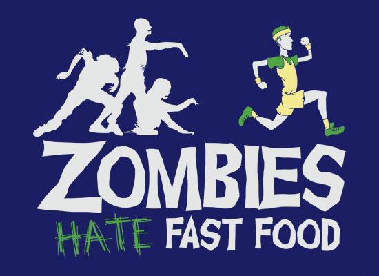 zumbis detestam fast food