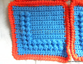 Swirls and Sprinkles: Free crochet Letter L block pattern