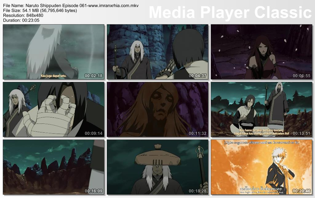 Download Film / Anime Naruto Episode 061 Shippuden Bahasa Indonesia