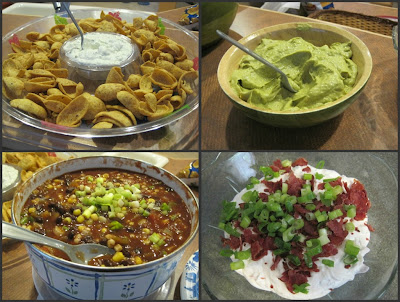 Four Yummy Dips