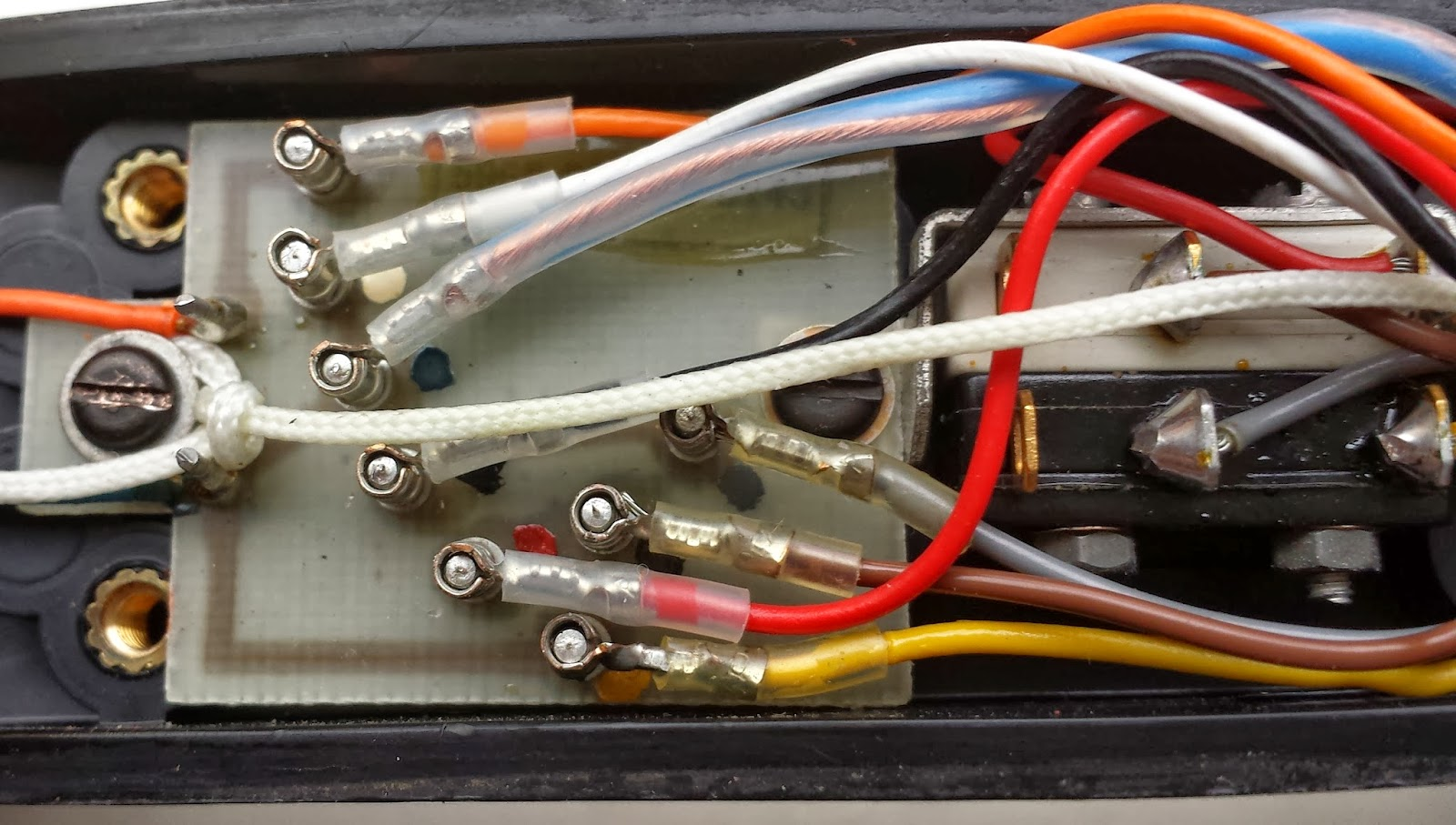 Tony Allen Ei4dib Droghedaireland Replacing A Faulty Clansman 4 Pin Handset Wiring Diagram After All This Was Done Which Only Took About Ten Minutes I Tested The With New Lead Monitoring Myself On Another Radio Audio