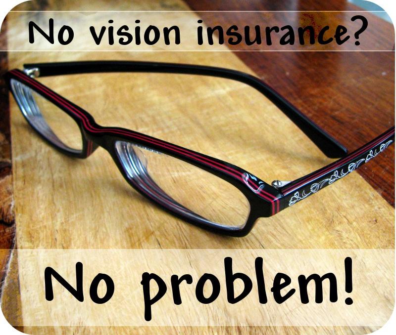 No vision insurance?