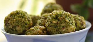 Broccoli Parmesan Meat Less Balls from Best of Long Island and Central Florida