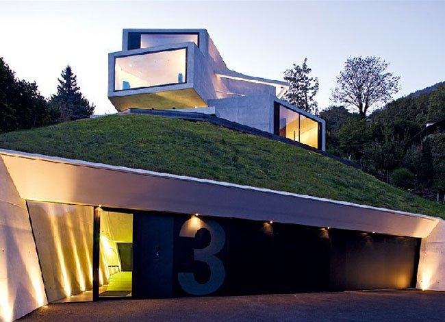 James Bond House villa am see – swiss villa of james bond | modern buildings