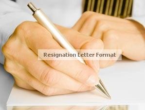 resignation letter format resignation letter sample
