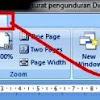 Menampilkan Dokumen/sheet di Word dan Excel Secara Bersamaan