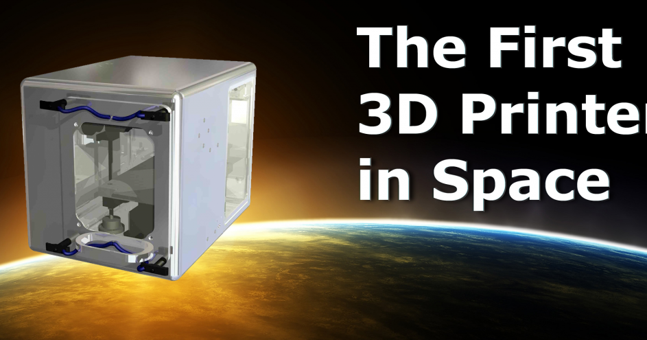 Print3d world made in space impresi n 3d en el espacio for When was space made