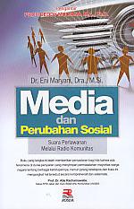 toko buku rahma: buku MEDIA DAN PERUBAHAN SOSIAL, pengarang eni maryani, penerbit rosda