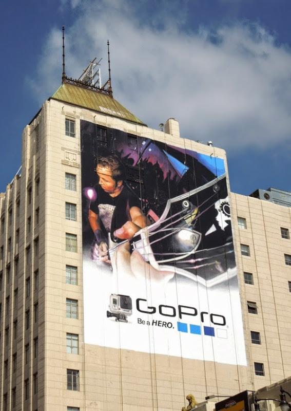 Giant GoPro guitar billboard June 2014
