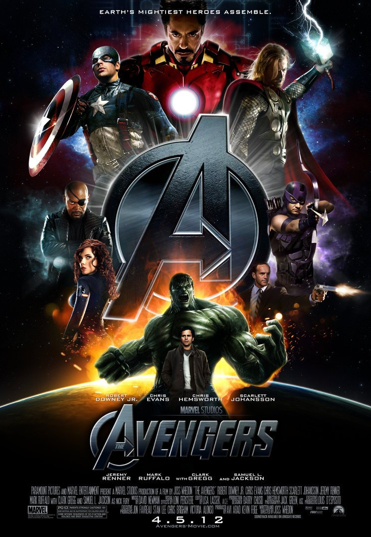 The avengers special individual character posters