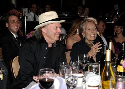 Young Joni Mitchell Joni Mitchell And Neil Young