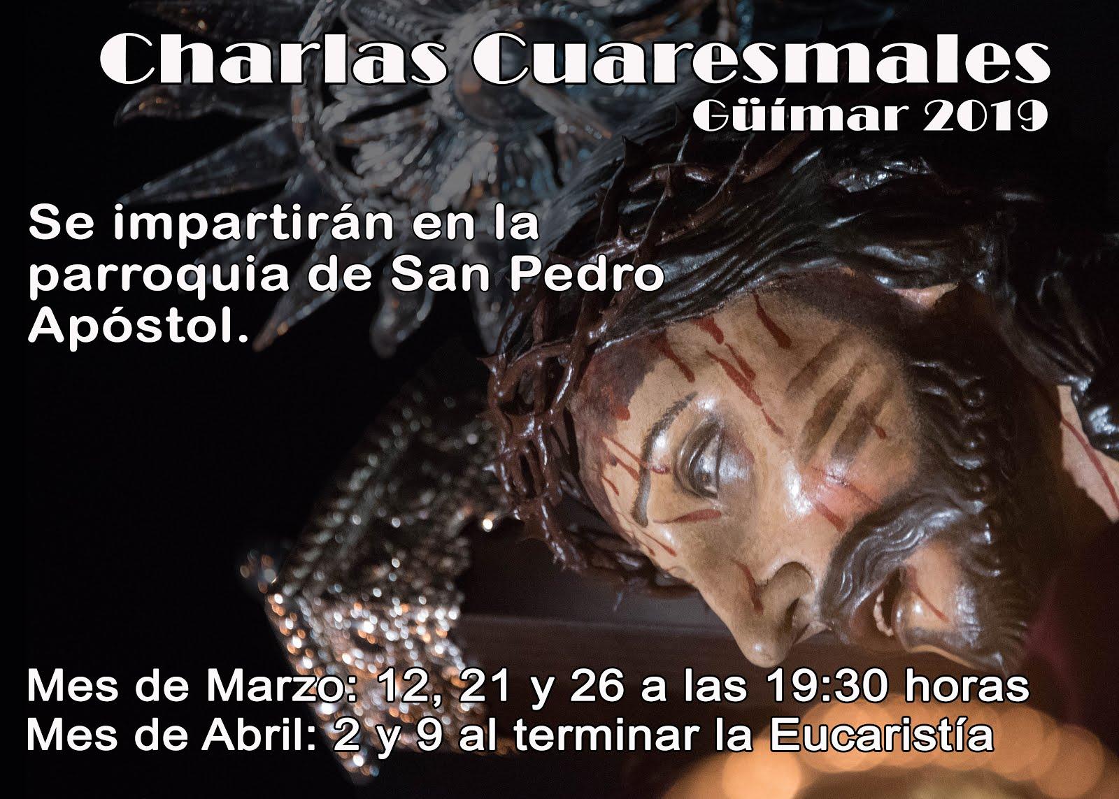 Charlas Cuaresmales. Güímar 2019