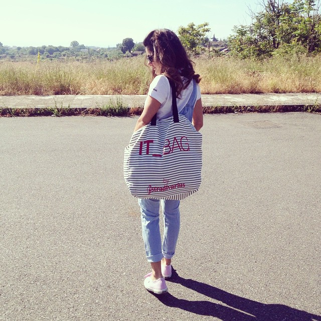 outfit salopette, summer 2015, stylegram