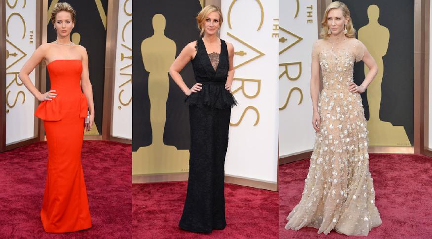 Moda Red carpet Oscars