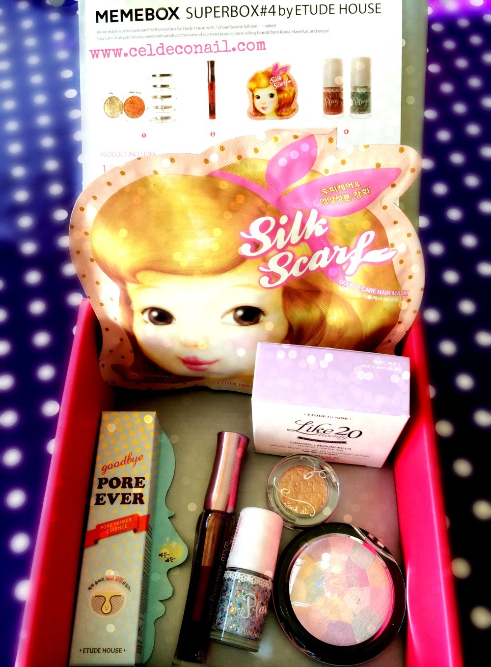 Etude House superbox memebox