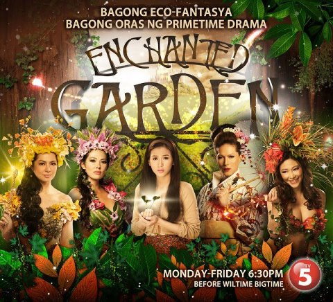 Enchanted garden fantasy romance tv series associated broadcasting company tv5 television series Gardening tv shows online