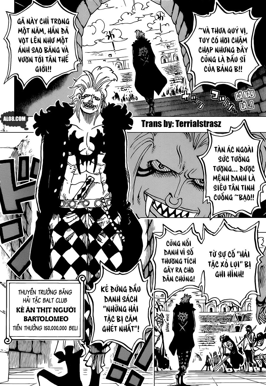 One Piece Chapter 706: Ta sẽ không cười ngươi nữa đâu 002