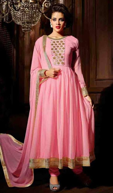 Anarkali, Suit, Girls, Latest, New, Stylish, Indian, 2015-2016.